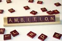 Difference between Goal and Ambition