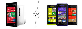 Nokia Lumia 928 vs HTC Windows 8X