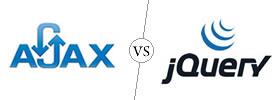 Ajax vs jQuery