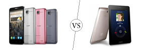 Alcatel One Touch Idol vs Asus FonePad