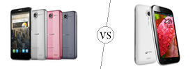 Alcatel One Touch Idol vs Micromax A116 Canvas HD