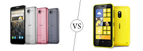 Alcatel One Touch Idol vs Nokia Lumia 620