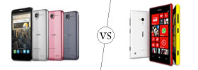 Alcatel One Touch Idol vs Nokia Lumia 720