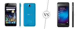 Alcatel One Touch Idol Ultra vs Blackberry Z10
