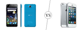 Alcatel One Touch Idol Ultra vs iPhone 5