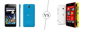 Alcatel One Touch Idol Ultra vs Nokia Lumia 720