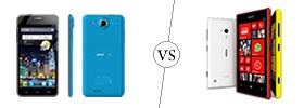Alcatel One Touch Idol Ultra vs Nokia Lumia 720