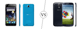 Alcatel One Touch Idol Ultra vs Samsung Galaxy S4