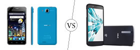 Alcatel One Touch Idol Ultra vs Xolo X1000