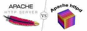 Apache vs Httpd