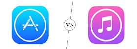 App Store vs iTunes