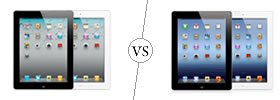 Apple iPad 2 vs iPad 4