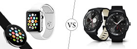 Apple Watch vs LG G Watch R