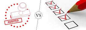 Audit vs Evaluation
