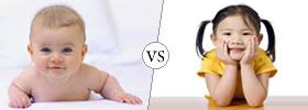 Baby vs Child
