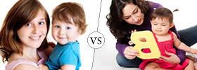 Babysitter vs Nanny