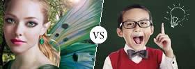 Beautiful vs Smart