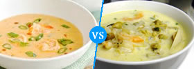 Bisque vs Chowder