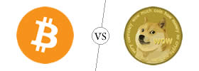 Bitcoin vs Dogecoin