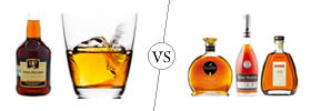 Brandy vs Cognac