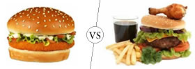 Burger vs Hamburger
