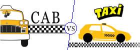 Cab vs Taxi