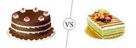 Cake vs Pastry