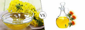 Canola Oil vs Safflower Oil