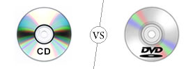 CD vs DVD