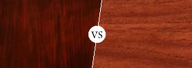 Cherry wood vs Mahogany