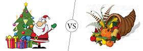 Christmas vs Thanksgiving