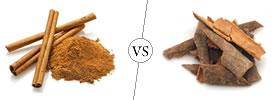 Cinnamon vs Cassia