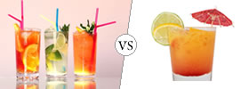 Cocktail vs Mocktail
