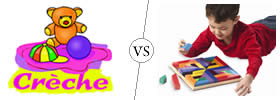 Creche vs Playschool