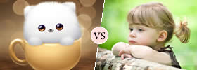 Cute vs Sweet