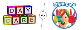 Daycare vs Childcare