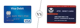 Debit vs ATM Card
