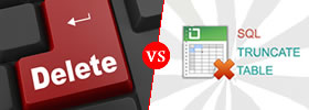 Delete vs Truncate