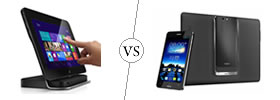 Dell Latitude 10 Windows Tablet vs Asus Padfone Infinity