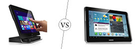 Dell Latitude 10 Windows Tablet vs Samsung Galaxy Tab 2 10.1
