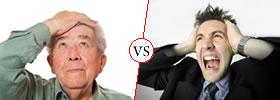 Dementia vs Psychosis