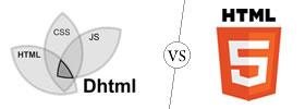 DHTML vs HTML5