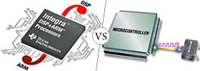 DSP vs Microcontroller