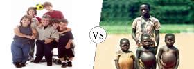 Dwarfism vs Cretinism