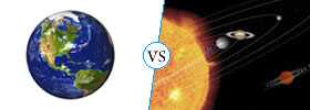 Earth vs Mars