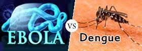 Ebola vs Dengue