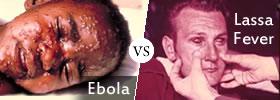 Ebola vs Lassa Fever