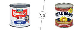 Evaporated Milk vs Sweetened Condensed Milk
