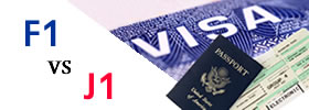 F1 vs J1 Visa