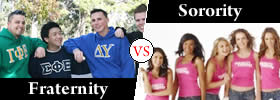Fraternity vs Sorority